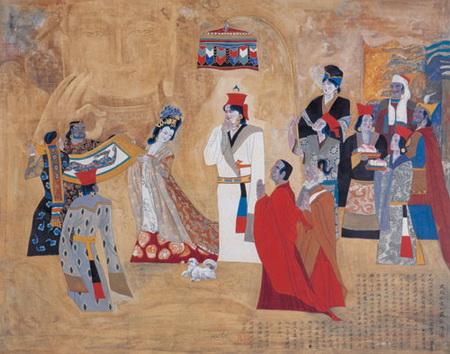 pengaruh tamadun islam di china I melalui peranan pedagang islam arab dan parsi yang mendarat di selatan china Ø kesan pengaruh islam terhadap Ø semenjak awal tamadun china telah.